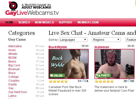 We discuss the top gay live webcam site www.GayLiveWebcams.TV